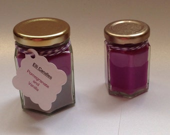 Highly scented candles, set of 2.... We love these...and we're sure you will too when you see what we've done with them...