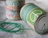 Can Phone - Tin Can Phone - Telephone Cans - Nostalgic Toy - Gift Ideas for Kids - String Can Phone - Photo Prop