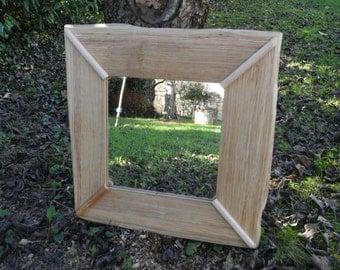 Mirror Square Oak