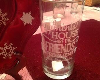 Christmas vase.