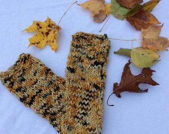 Handmade Fall Fingerless Gloves