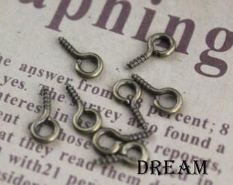 50pcs/lots, eye pins, screw eye pin PC2103