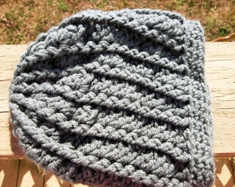 Cabled Lace Hat