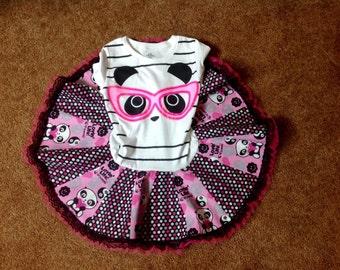 Lil' Panda Twirl Dress size 4/5