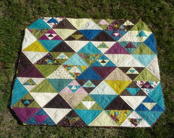 Quilt - Blanket - Baby or lap quilt