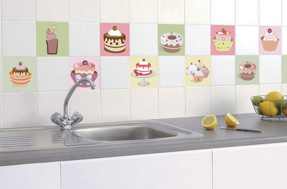 kitchen backsplash tiles kitchen tiles tile decals