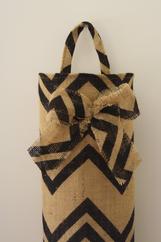 Plastic Bag Holder Sewing Pattern Instant Download Grocery