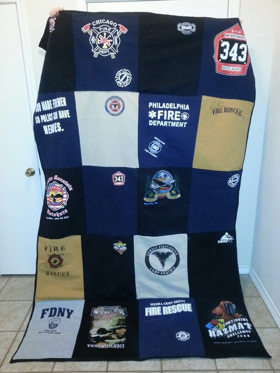 Custom T Shirt Quilt Made To Order