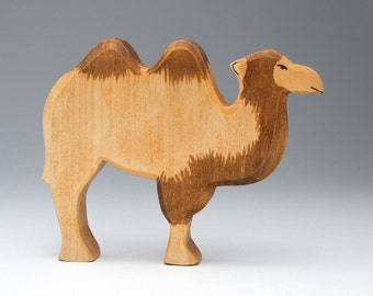 Handmade Wood - Eco figurine - Camel - Camel Toy - Eco Friendly - Wooden Animal Toys - Kids Toys - Eco Products - Wooden Figurines - Safari