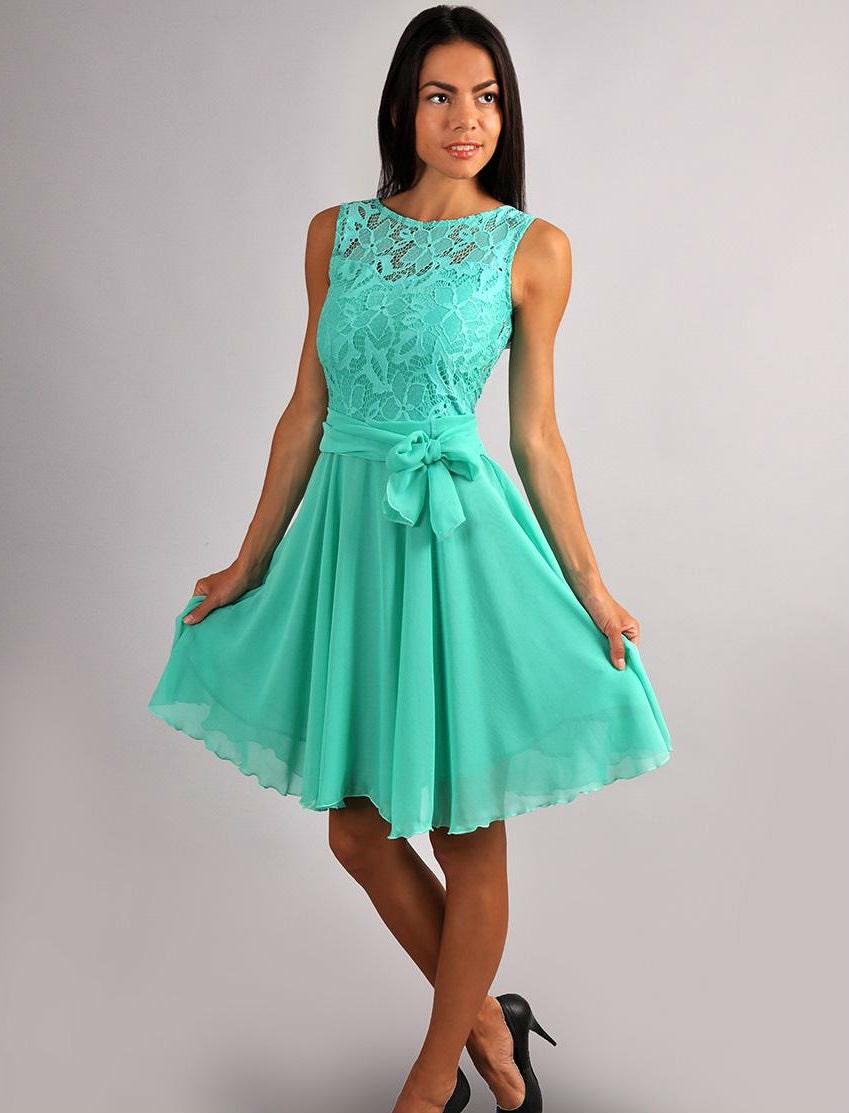 Mint Green Dresses For Juniors
