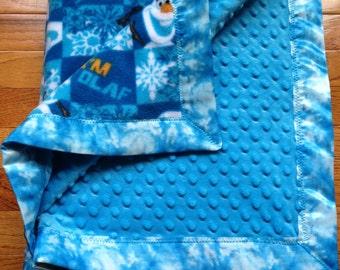 Disney Frozen Satin Bound Blankets