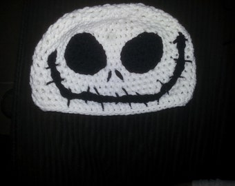 Jack Skellington Crochet Hat