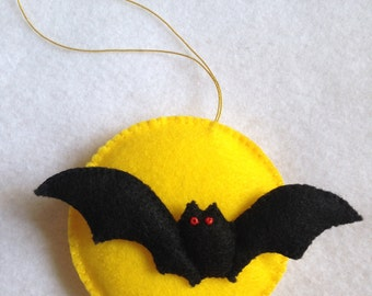 Handmade Felt Halloween Ornament