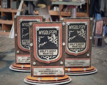 Award Trophies Custom made from Metals