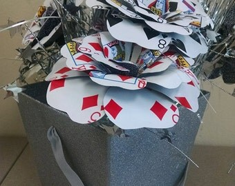 Playing Card Flower Bouquets