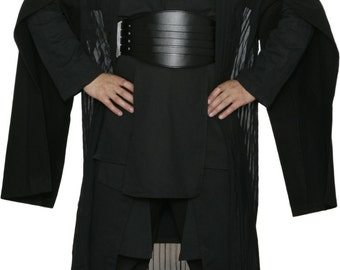 Star Wars Darth Maul Black Sith Costume with Replica Darth Maul Robe and Belt