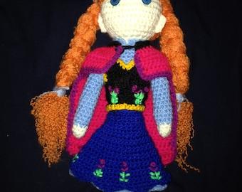 Anna Frozen Doll