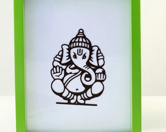 Macbook Pro Decal Ganesh - Car Sticker Ganesha - Vinyl