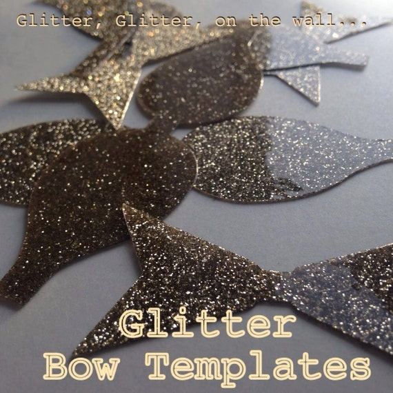 Large Plastic Bow Template For Creating Bows By TaimarsGlitter
