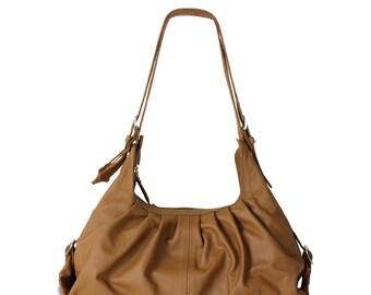 Leather hobo bag   Etsy