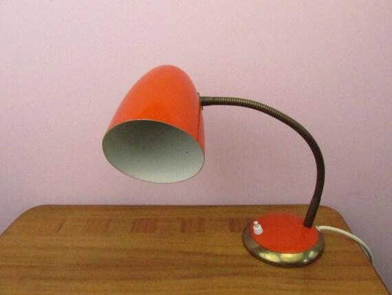 Vintage Mid Century Dask Lamp Gooseneck 60s Schwannenhals