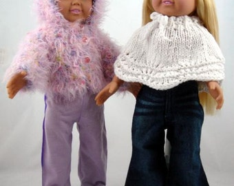 Terrific Toppers, PDF Knitting Patterns for 18-Inch Dolls,Immediate Download, Fit American Girl Dolls