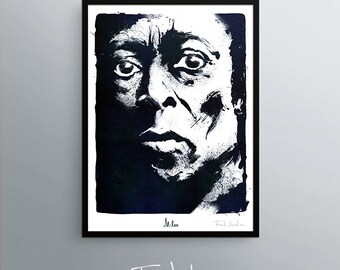 Miles Davis poster, by Fred Jourdain