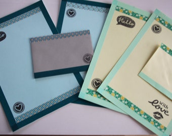 Handmade stationery stet - 2 Themes