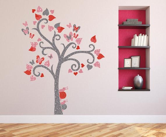 Autocollant de mur arbre autocollant mural stickers muraux for Autocollant mural arbre