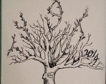 Custom name tree drawing