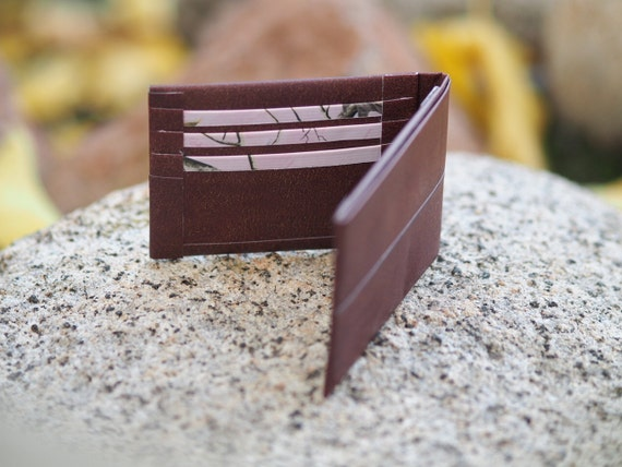 Durable And Stylish Duct Tape Leather Looking Brown By