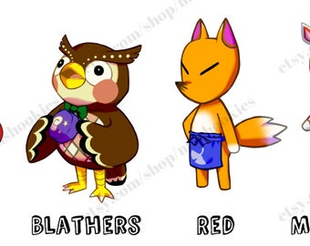 Animal Crossing Stickers