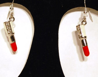 Earrings Lip Stick ER24