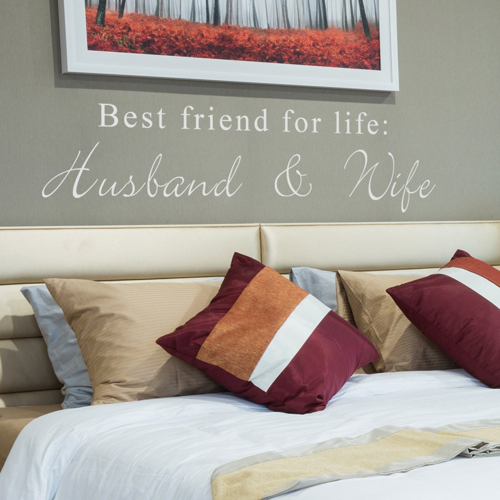 Best Husband And Wife: Best Friends For Life Husband And Wife Cute Bedroom