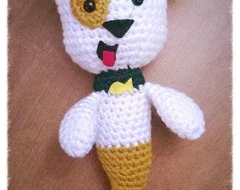 Crochet Bubble Guppy's Bubble Puppy