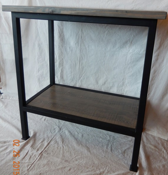 Counter Height Sofa Table : Handcrafted Bar Height Sofa Console Table with by LAZYKWroughtIron