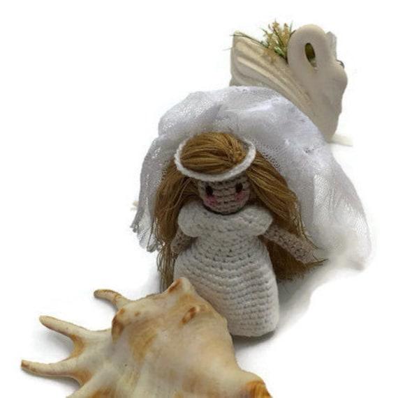 Items similar to Amigurumi Crochet Bride Doll Crochet Doll ...