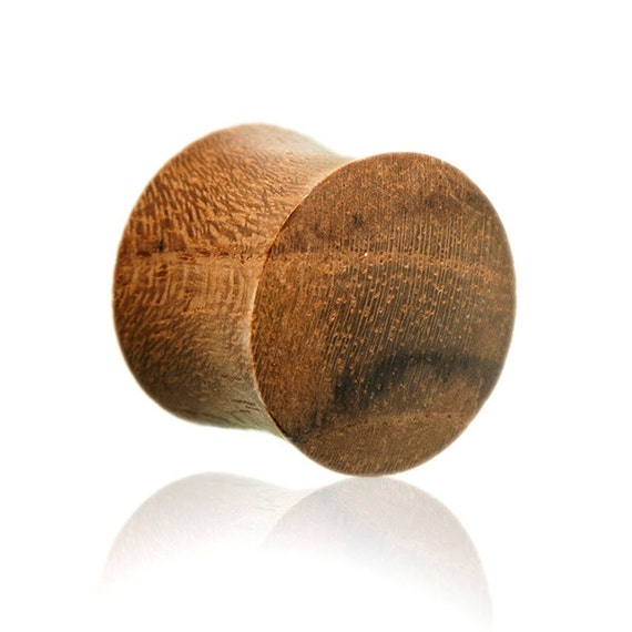 6 mm -2g organic Teak wood ear plug. This design is available in 6mm-12mm.