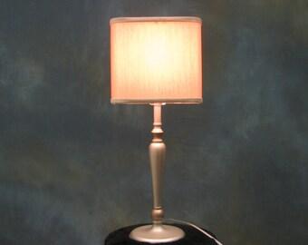 Modern Silver Table Lamp