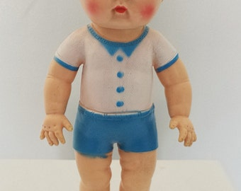 Sun Rubber Company Boy Doll 1956