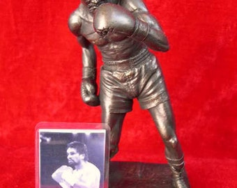 Roberto Duran Rare Limited Edition Figurine Sculpture Only 1000 Made World Boxing Champion By LEGENDS FOREVER