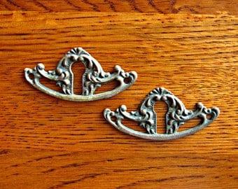 Victorian Keyholes ~ Antique Brass Keyholes ~ Victorian Hardware ~ Antique Door Hardware