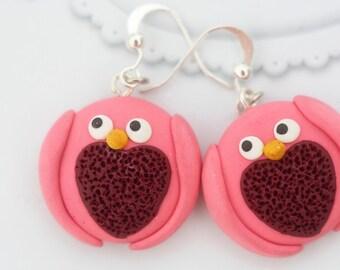 """Earrings """"Owl"""""""