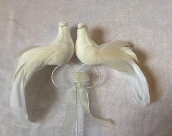 Doves Cake Topper Wedding