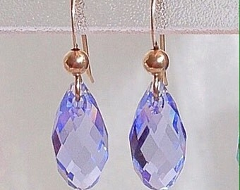 Swarovski Briolette Earrings