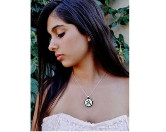 Personalized Initial Necklace - Happy Birthday Jewelry - Initial A Jewelry - Custom Initial Necklace - Personalized Jewelry - Royal Initial