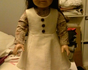 18 inch doll Jumper and Blouse