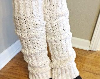 Womens Leg Warmers // Crocheted Leg Warmers