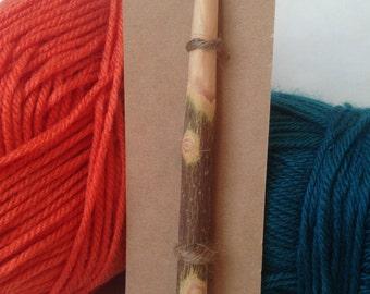 Wood Crochet Hook, Size N (10mm), Pioneer Style