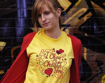 I Choo Choo Choose You Funny Valentines Sketch Doodle T-shirt Gift For Him Tee Shirt Gift For Her Love Romantic Tshirt Boyfriend Girlfriend
